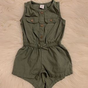 Baby Girl Old Navy Utility Romper